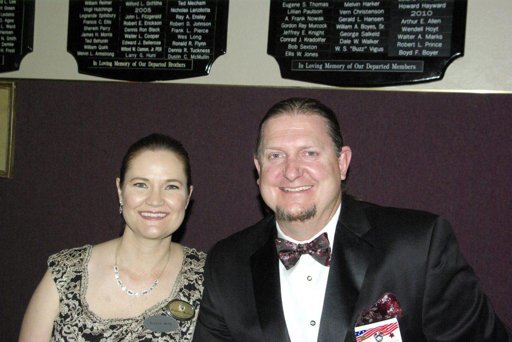 President Elect Jared Wanlass and Stefanee Wanlass